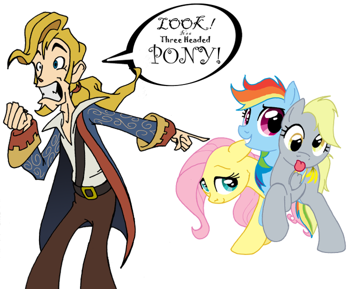 Monkey Island - My Little Pony